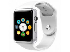 Умные смарт часы Smart watch A1 Белый