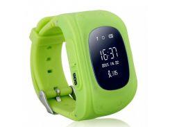Детские смарт часы Smart Baby Watch Q50 Light Green