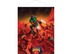 Плакат Gaya Doom Wallscroll - Retro