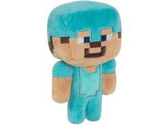 "Плюшевый сувенир JINX Minecraft - Happy Explorer Diamond Steve, 7"" Multi-Color"