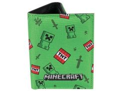 Кошелек JINX Minecraft - Creeper Sprite Wallet