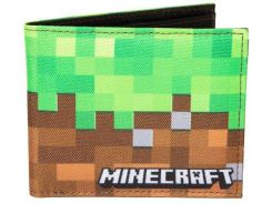 Кошелек JINX Minecraft - Dirt Bi-Fold Wallet