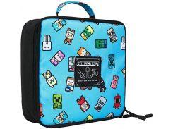 Ланчбокс JINX Minecraft Bobble Mobs Lunch Box, Blue