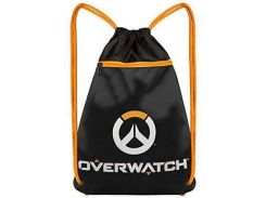 "Сумка JINX Overwatch Cinch Bag 15"", Black"