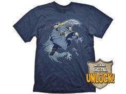 Футболка Gaya DOTA 2 T-Shirt - Kunkka + Ingame Code, XL