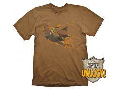 Футболка Gaya DOTA 2 T-Shirt - Batrider + Ingame Code, L