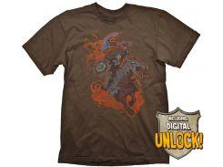Футболка Gaya DOTA 2 T-Shirt - Chaos Knight + Ingame Code, M