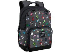 "Рюкзак JINX Minecraft Bobble Mobs Backpack 17"", Gray"