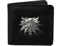 Кошелек JINX The Witcher - White Wolf Bi-Fold Wallet Black