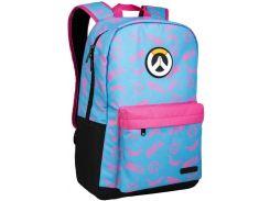 Рюкзак JINX Overwatch D.Va Splash Backpack Blue/Pink