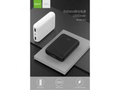 Внешний аккумулятор | Портативные зарядки | Power Bank GOLFG62 10000 mah