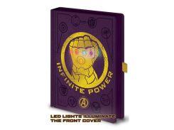 Блокнот Pyramid Avengers: Infinity War (Gauntlet LED)