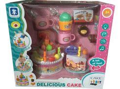 Большой празничный торт с аксессуарамы Le Ke Er Toys Delicious cake LKE16A5