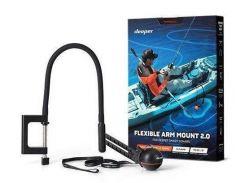 Flexible Arm Mount 2.0 — гибкое крепление эхолотов Deeper к лодке