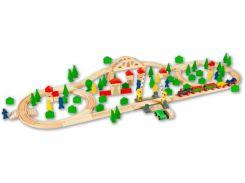 Деревянная железная дорога Shantou Jinxing Eichhorn 100 ел
