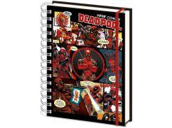 Блокнот Pyramid International Marvel Deadpool Comic Strip