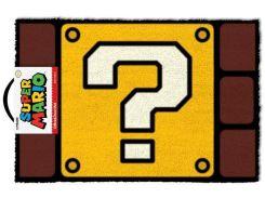 Напольный коврик Pyramid International Super Mario Doormat - Question Mark Block