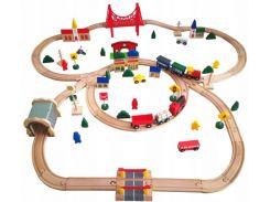 Деревянная железная дорога Kinderplay GS0012