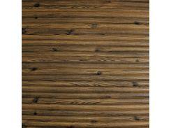 3D Панель черный лофт (самоклейка) Бамбук цвета Дерево