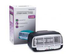 Ионизатор очиститель воздуха Супер Плюс Турбо озонатор черный