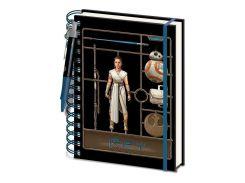 Блокнот Pyramid International Star Wars: The Rise of Skywalker - Airfix Rey Wiro Notebook