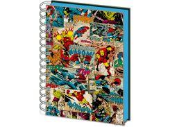 Блокнот Pyramid International Marvel Lenticular Notebook