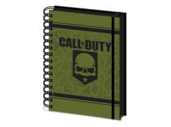 Блокнот Pyramid International Call of Duty - Skull Notebook