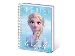 Блокнот Pyramid International Frozen 2 - Sisters Metallic Cover Notebook