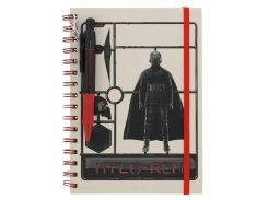 Блокнот Pyramid International Star Wars: The Rise of Skywalker - Airfix Kylo Wiro Notebook