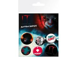 Значок GB eye Badge Pack: IT Chapter 2 Pennywise (BP0801)