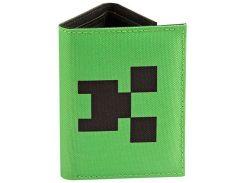 Кошелек JINX Minecraft - Pocket Creeper Tri-Fold Nylon Wallet