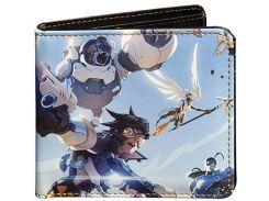 Кошелек JINX Overwatch - Sky Battle Wallet