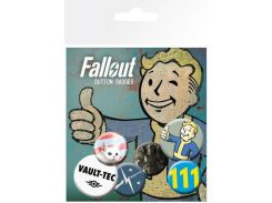 Значок GB eye Badge Pack: Fallout 4 Mix 1 (BP0666)