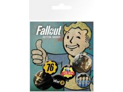 Значок GB eye Badge Pack: Fallout 76 (BP0773)