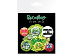 Значок GB eye Badge Pack: Rick and Morty Quotes (BP0734)