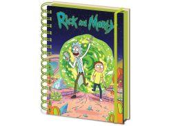 Блокнот Pyramid International Rick and Morty Portal