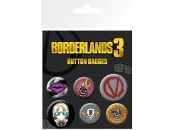 Значок GB eye Badge Pack: Borderlands 3 Icons (BP0796)