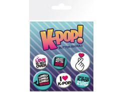 Значок GB eye Badge Pack: K-POP Quotes (BP0783)