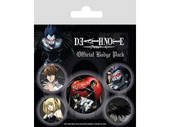 Значок Pyramid International Badge Pack: Death Note - Characters