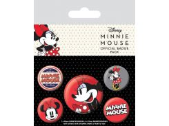 Значок Pyramid International Badge Pack: Minnie Mouse - Minnie