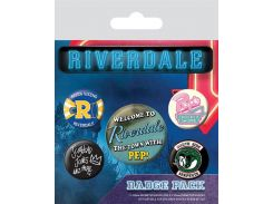 Значок Pyramid International Badge Pack: Riverdale - Icons