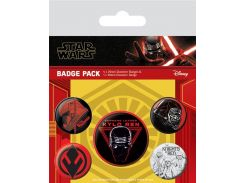 Значок Pyramid International Badge Pack: Star Wars: The Rise of Skywalker - Sith