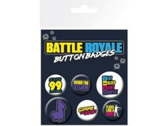 Значок GB eye Badge Pack: Battle Royale (BP0784)