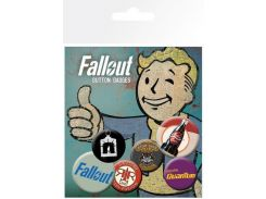 Значок GB eye Badge Pack: Fallout 4 Mix 2 (BP0667)