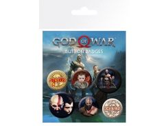 Значок GB eye Badge Pack: God of War (BP0759)