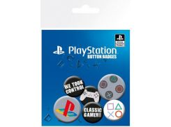 Значок GB eye Badge Pack: Playstation (BP0600)