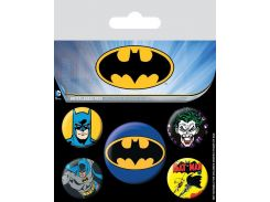 Значок Pyramid International Badge Pack: DC - Batman