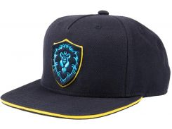 Кепка JINX World of Warcraft - 15th Anniversary Alliance Snapback Hat Navy