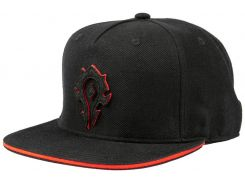 Кепка JINX World of Warcraft - 15th Anniversary Horde Snapback Hat Black