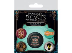 Значок Pyramid International Badge Pack: Fantastic Beasts